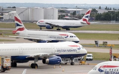 British Airways sends out thousands of emails cancelling flights due to strike action
