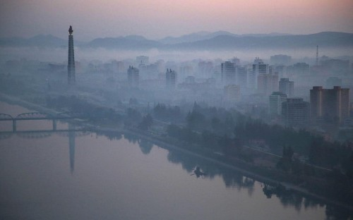North Korea 'feeding workers crystal meth' to speed up skyscraper project