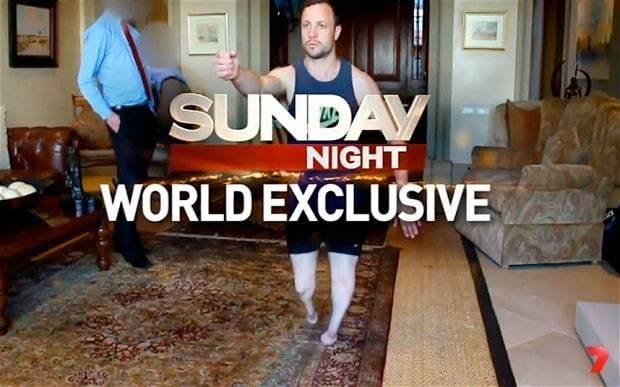 Oscar Pistorius re-enacts Reeva Steenkamp shooting in extraordinary leaked video