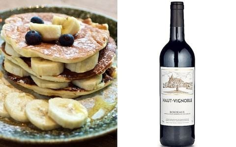 Which wine should I drink with pancakes?
