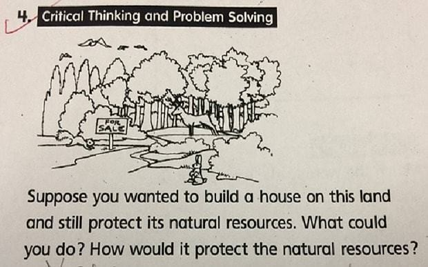 Student gets top marks for 'perfect' answer to critical thinking question