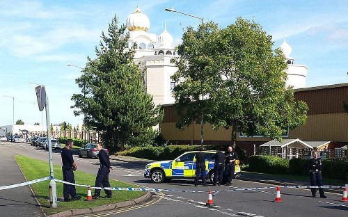 Fifty-five arrested after armed siege at Sikh temple in protest over interfaith marriage