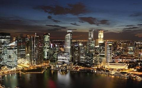 Welcome to the future: Meet the man turning Singapore into the world's most futuristic smart city