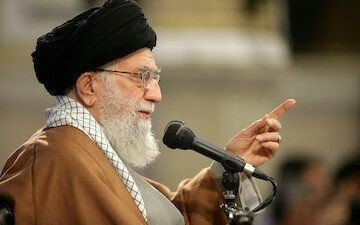 Iranian dissident ordered to copy out books by Ayatollah Khamenei after branding Supreme Leader a despot