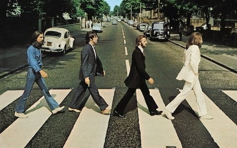 The Beatle's Abbey Road returns to number one 50 years on