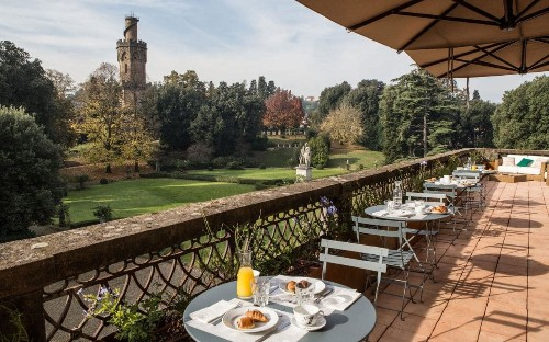 Ad Astra: Is this Florence's loveliest hotel garden?
