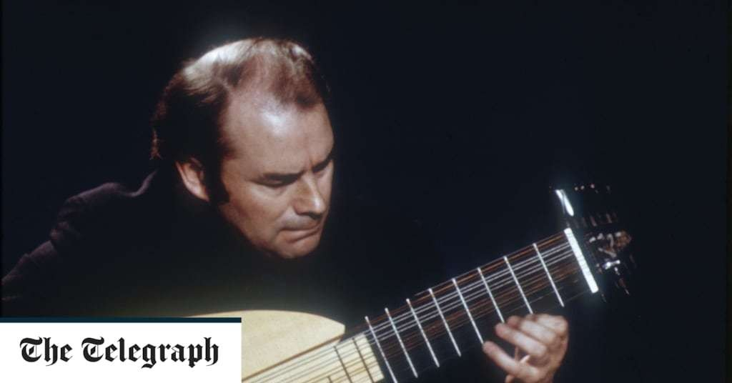 Julian Bream, uniquely gifted and influential British classical guitarist – obituary