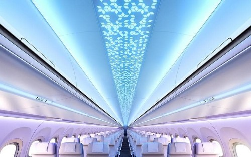 Double beds and urinals at 35,000 feet – introducing the aircraft interiors of the future