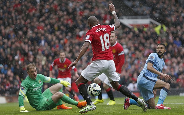 Manchester United 4 Manchester City 2, Premier League match report: Ashley Young inspires hosts to crushing derby win