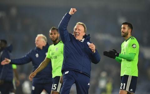 Neil Warnock somehow still smiling despite Cardiff's desperate season