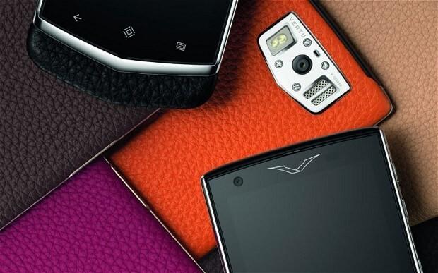 Vertu launches £4,000 Constellation smartphone