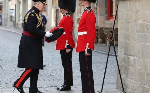 Prince Andrew makes first major appearence abroad as he attends the 75th anniversary of Bruges liberation