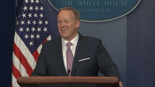 First White House press briefing: Donald Trump spokesman Sean Spicer says special relationship between Britain and the US 'can always be closer'