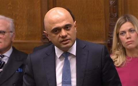 MPs gawped and gasped... but Sajid Javid's revenge on Dominic Cummings fell flat