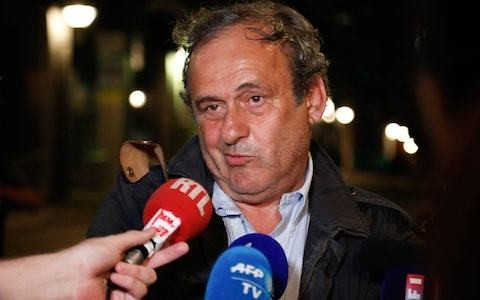 Michel Platini 'hurt' by police questioning over Qatar World Cup