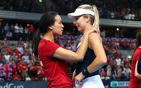'I am totally in awe of these women': Anne Keothavong hails British team after Fed Cup comeback against Kazakhstan