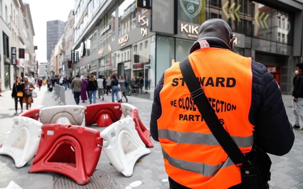 Coronavirus has made High Street shopping in Brussels more dystopian than Blade Runner