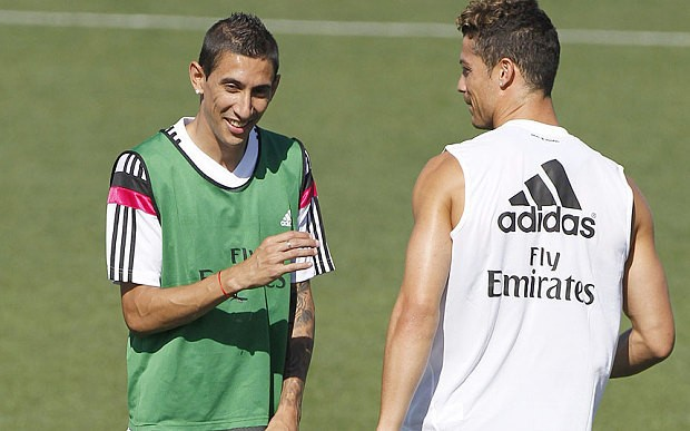 Angel di Maria set for £60 million transfer to Manchester United after saying goodbye to Real Madrid team-mates