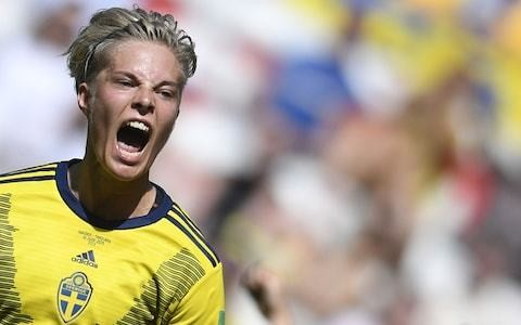 Sweden book place in last 16 of World Cup as Thailand endure another rout