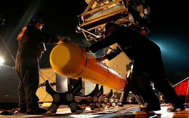 Malaysia Airlines MH370: submarine to extend search area