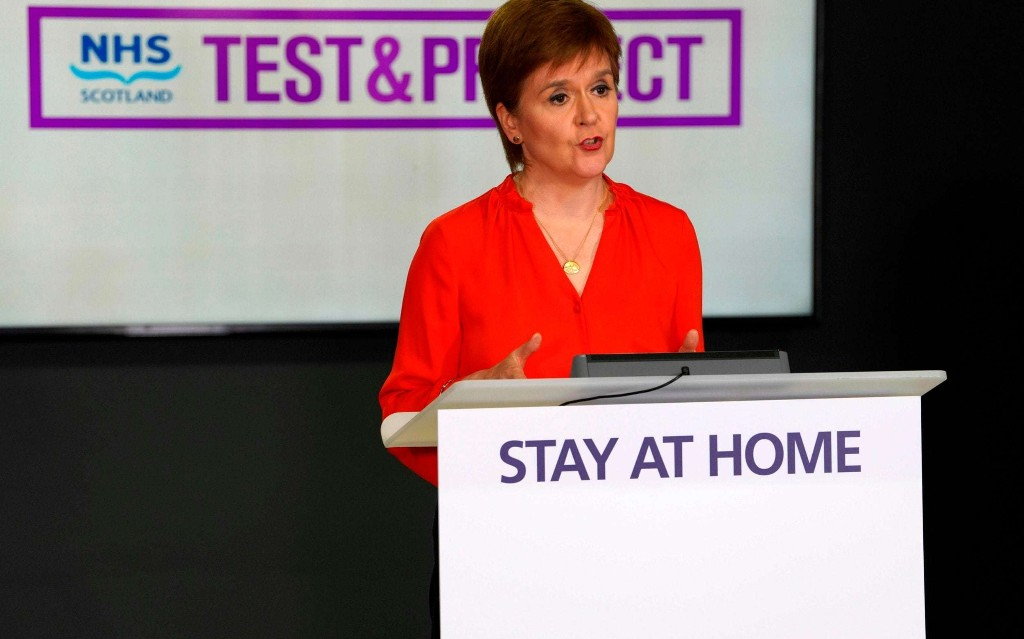 Nicola Sturgeon accused of overseeing 'alarming' drop in Covid-19 testing