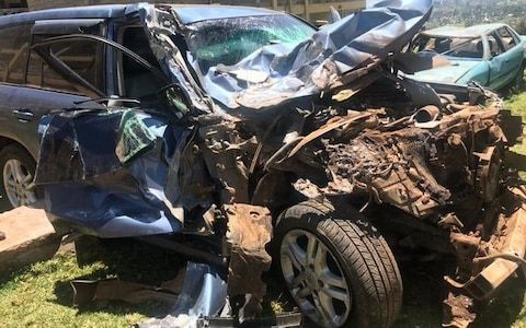 Olympic 800m champion David Rudisha escapes unhurt after car collides with bus