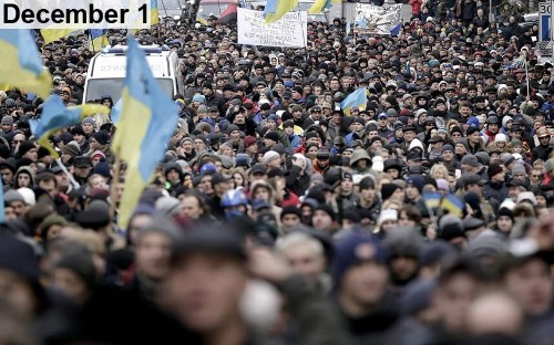 Ukraine timeline in pictures: How protests developed into international crisis - Telegraph