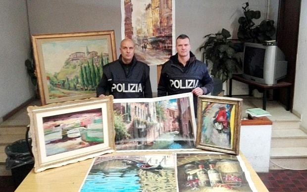 Sophisticated art thieves network operating at Rome airport uncovered