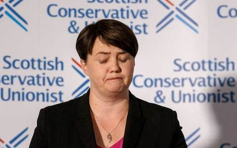 Senior Scottish Tories call for debate over loosening ties with UK party after Ruth Davidson's resignation