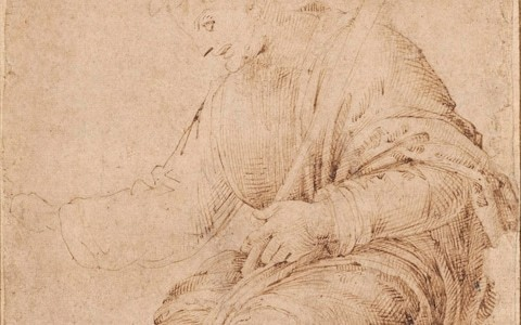Michelangelo's earliest surviving drawing created when artist was 12 discovered