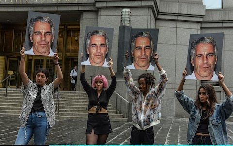 Nervous wait for Jeffrey Epstein's associates as court mulls release of 10,000 pages of documents