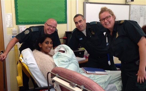 Teacher gives birth in school classroom