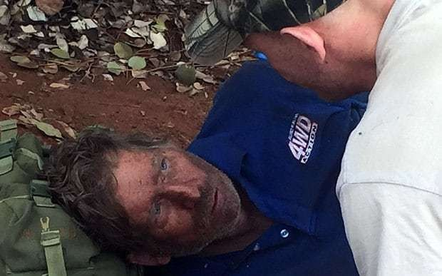 Australian man who survived in the outback after eating ants says 'they tasted quite good'