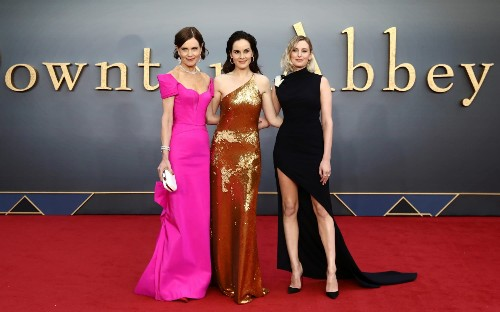 All the best red carpet looks from the Downton Abbey movie premiere