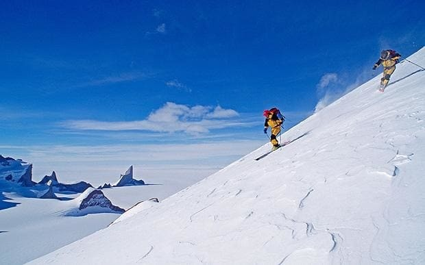 It's time to put skiing in Antarctica on your bucket list
