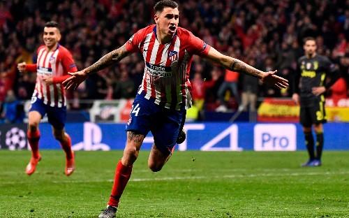 Atletico Madrid seize advantage in bruising Champions League first leg against Juventus