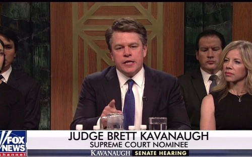 Donald Trump blasts Saturday Night Live after Matt Damon's Brett Kavanaugh skit and Kanye West rant