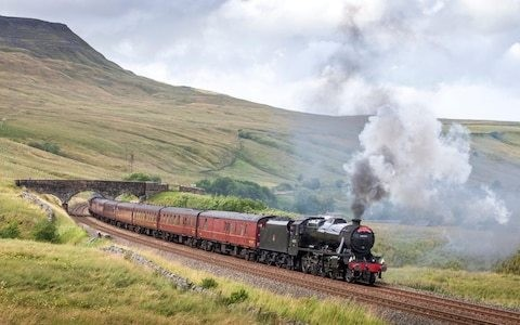 "Steam driver shortage on Britain's heritage railways as call goes out for ""new blood"""