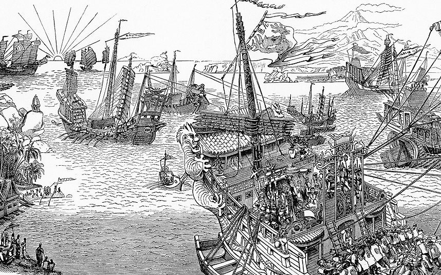 13th century Mongolian ship Kublai Khan sent to invade Japan found