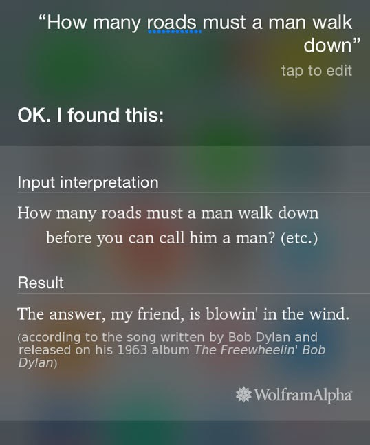 The best of Siri: 11 funny responses from the iPhone's virtual assistant