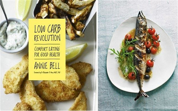 Cookbook of the week: Low Carb Revolution by Annie Bell