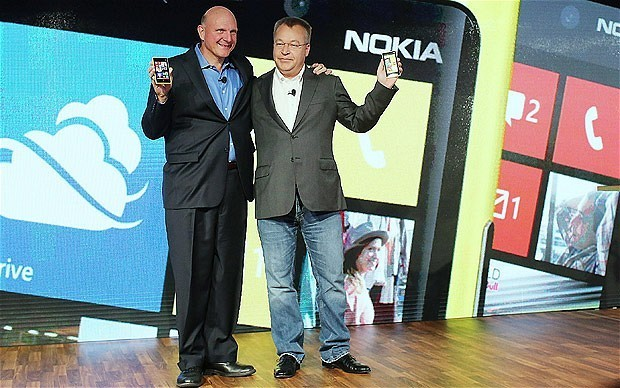 Microsoft buys Nokia's mobile phone arm in €5.4bn deal