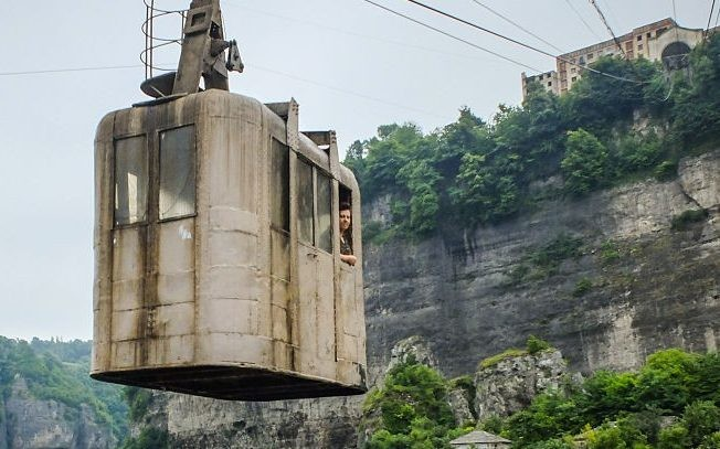 In pictures: the rusting cable cars of Chiatura, living relics of Soviet engineering ambition