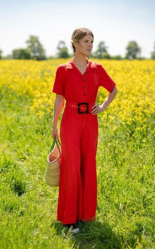 Virginia Chadwyck-Healey on why red is the colour to try this summer
