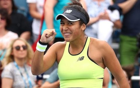Heather Watson has the wind in her sails at Australian Open - but Dan Evans fails to master blustery conditions