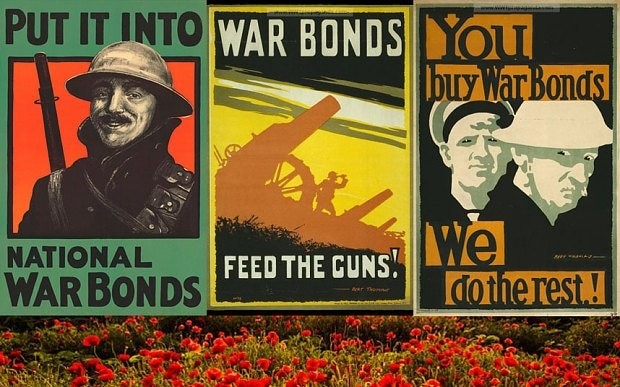 UK government finally repays World War One bonds