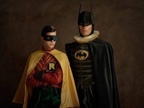Superheroes and sci-fi stars given 16th-century makeover - Telegraph