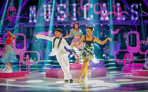 Strictly Come Dancing 2019, Musicals Week: jiving Karim Zeroual scores first perfect 40 of series and Anton du Beke notches his personal best