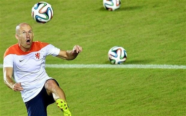 Arjen Robben's diving worries us, say Costa Rica ahead of Holland quarter-final World Cup tie
