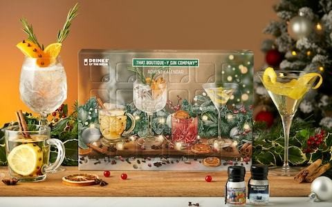 The best grown-up advent calendars: from gin and tonic to cheese and popcorn (not at the same time)